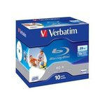 Blu-ray BD-R SL 25GB 6x imprimible Verbatim 43713