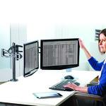 Brazo Flexible Doble para monitor Fellowes Professional Series  8041701
