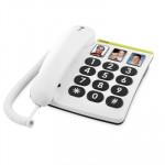 Telefono Fijo Doro Phone Easy 331ph 1 Blanco 4628