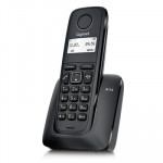 Telefono Fijo Gigaset A116 Neo Inalambrico Negro S30852-H2801-R101